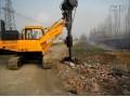 小型旋挖钻机施工 (42播放)