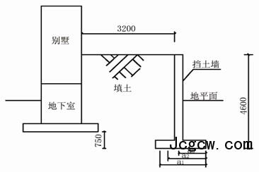 复杂条件下挡土墙的微型桩托换加固设计