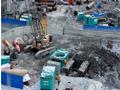 盾安重工全套管钻机在成兰铁路四川太平站四线大桥施工 (63播放)