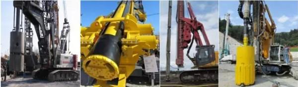 桩基础破岩施工的利器――阿特拉斯・科普柯大孔径潜孔冲击器