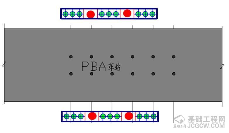 PBA施作地铁车站下穿桥梁影响分析