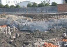 建筑大型深基坑支护工程图片赏析