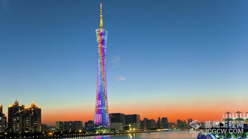 广州塔工程关键技术荣获国家科学技术进步二等奖