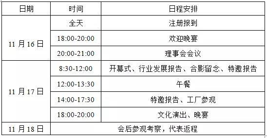 2017年中国桩工机械行业年会(2号)通知