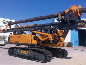 扬帆远征:海润科技XHR160旋挖钻机将首秀迪拜