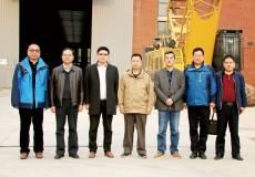 中国工程机械工业协会桩工机械分会理事长刘元洪一行考察北京中车重工