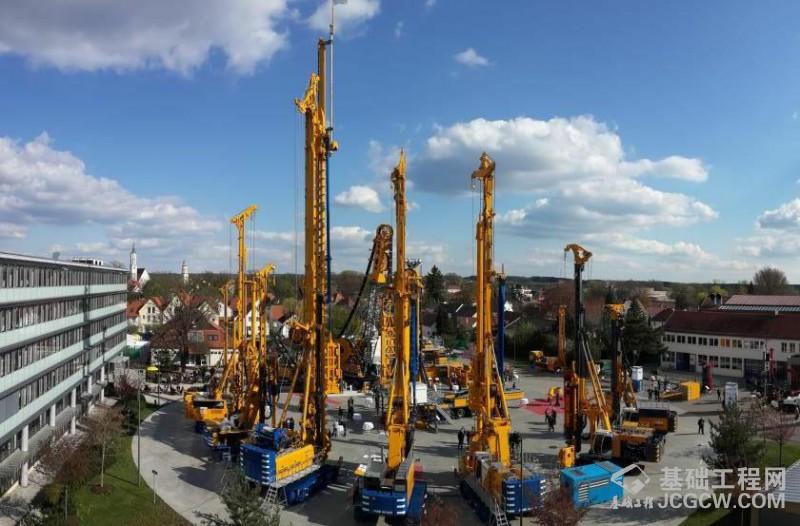 德国宝峨一次桩尖FDP工法现场视频,狭窄空间高效环保施工挤土桩
