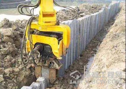 浅谈振动锤插打钢管桩的施工及应用