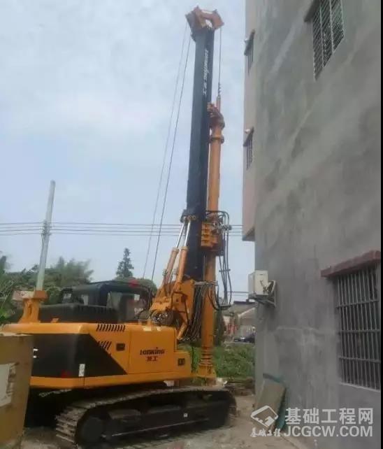 小型旋挖钻机打桩施工中影响效率的因素分析