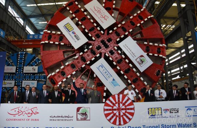 我国自主研制出口海外最大直径土压平衡盾构机助力2020年迪拜世博会