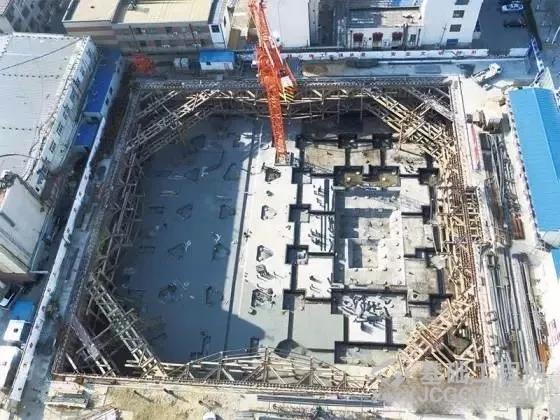新型深基坑支护内支撑结构体系 IPS工法