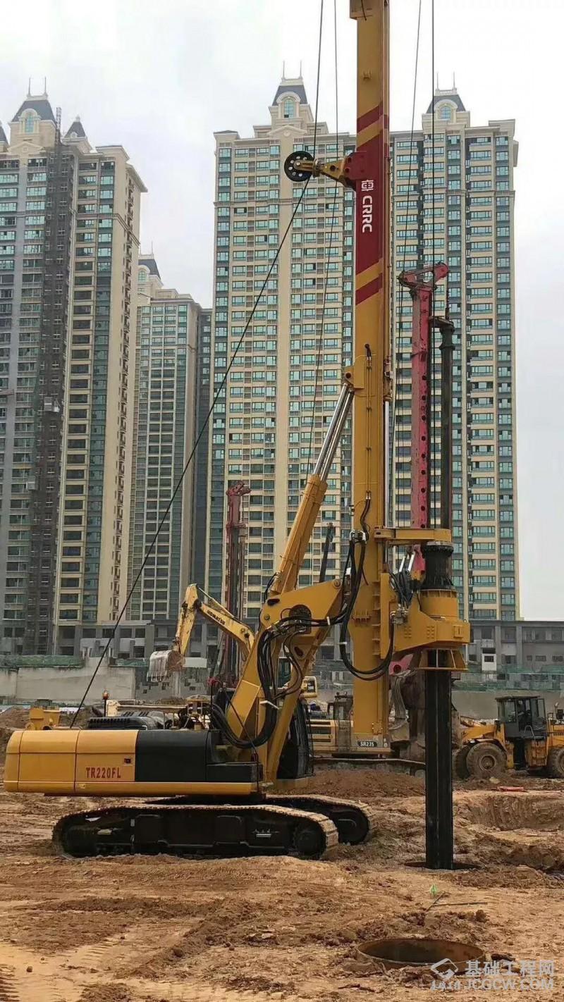 大气、灵活、高效的北京中车重工旋挖钻机