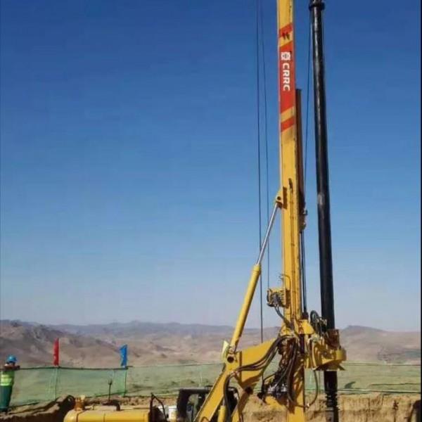 中车旋挖钻机参建三星电子城项目