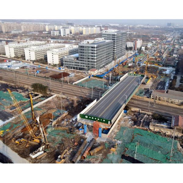 徐州矿大南门桥新桥桩基工程已启动!