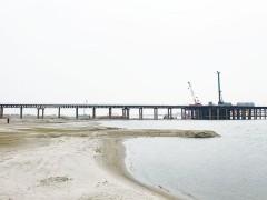 丰乐汉江大桥主桥墩桩基完工